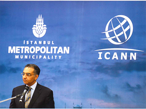Fadi Chehadé speaking at the 9th Meeting of the Internet Governance Forum (IGF) in Istanbul, Turkey | 2 - 5 September 2014 | Connecting Continents for Enhanced Multistakeholder Internet Governance