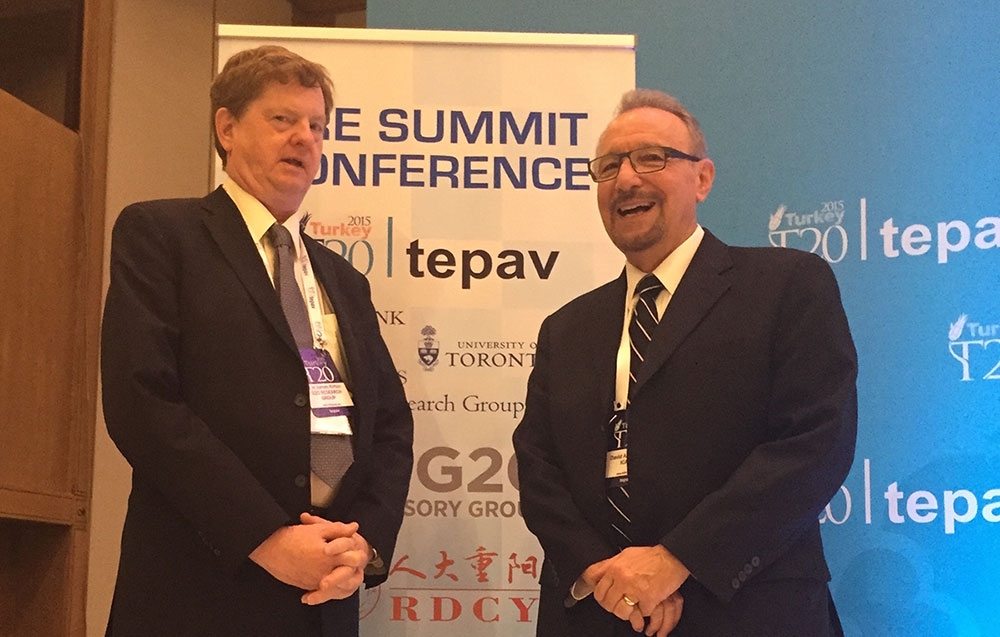 At the G20 Summit in Turkey 2015