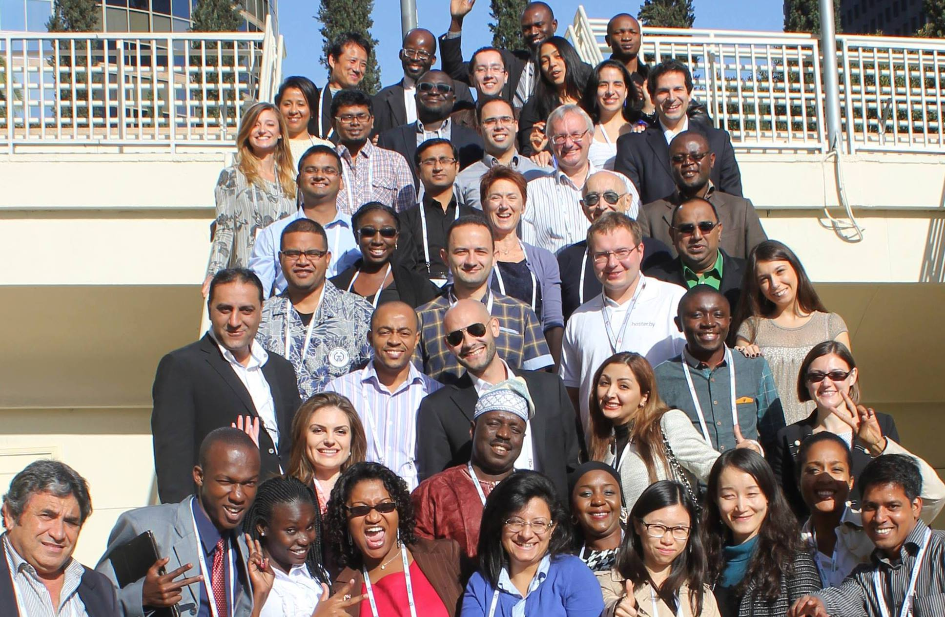 Los Angeles Fellowship Participants gather at ICANN51