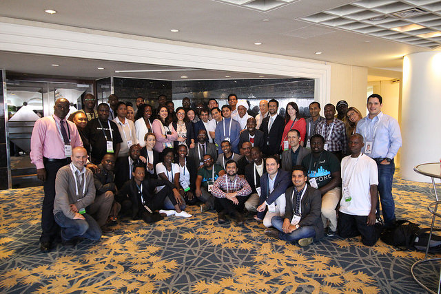 Singapore Fellowship Participants gather at ICANN52