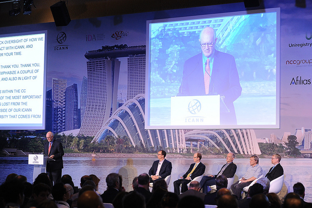 ICANN's Board of Directors Chairman, Steve Crocker, and Honorable Guest Speakers at ICANN 52 | Singapore Welcome Ceremony