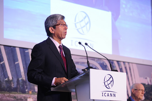 Singapore's Minister of Communications, Dr. Yaacob bin Ibrahim, at ICANN 52 | Singapore Welcome Ceremony