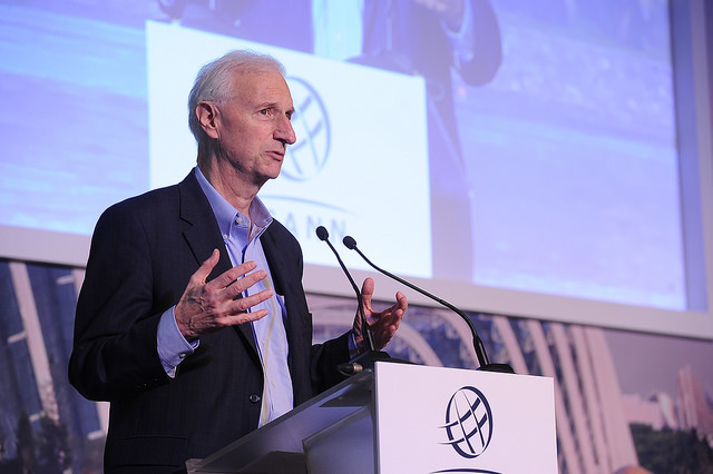 Former President Clinton's Chief Internet Policy Advisor, Ira Magaziner, at ICANN 52 | Singapore Welcome Ceremony