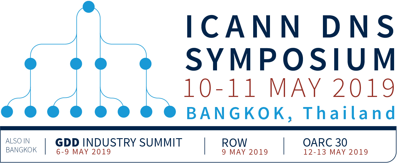ICANN DNS Symposium (IDS) | Bangkok | 10-11 May 2019