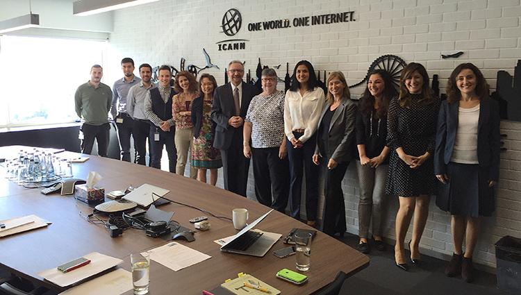 ICANN staff in Istanbul hub office