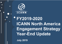 North America | FY2019-2020 ICANN North America Engagement Strategy Year-End Update | English