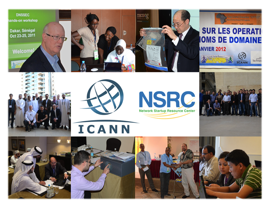 Tiled images from Past NSRC Conferences