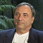 Photograph of Roberto Gaetano Discussing the At-Large ICANN Board Seat