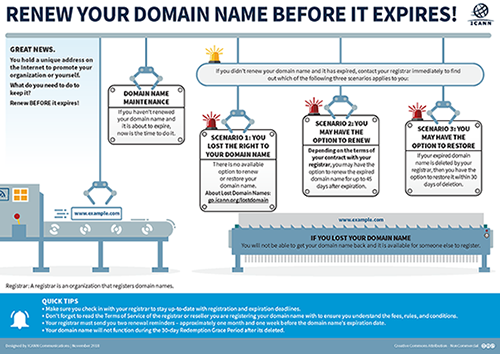 Renew Your Domain Name Before It Expires!