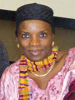 Photograph of Fatimata Seye Sylla – ALAC Representative; Africa Region