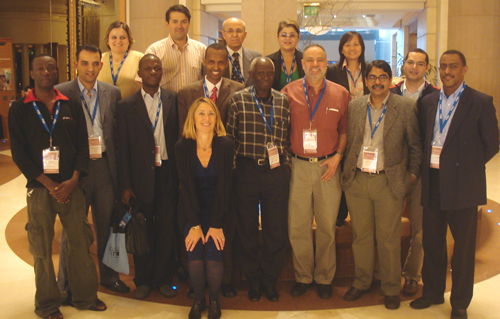 ICANN Fellows from Cairo meeting, 2008 (click photo for full-size image)