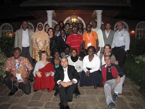 ICANN Fellows from Nairobi meeting, 2010