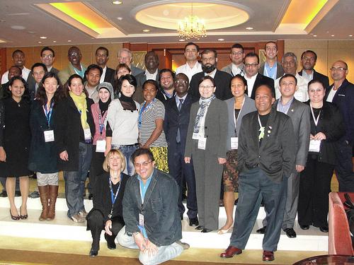 ICANN Fellows from Seoul meeting, 2009