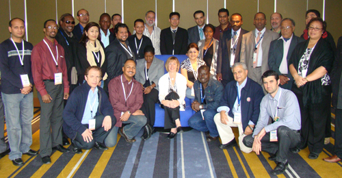 ICANN Fellows from Sydney meeting, 2009 (click photo for full-size image)