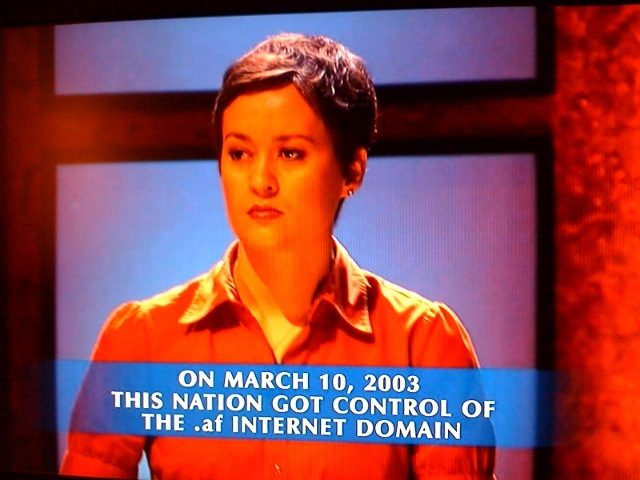 On March 10, 2003 this nation got control of the .af Internet domain