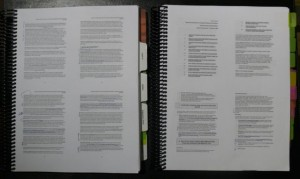 ¡Son cuatro páginas en cada hoja!