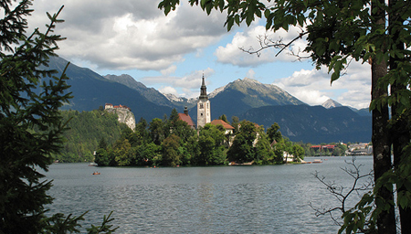 Picturesque Bled - location for the ccTLD meeting