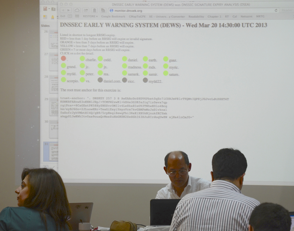 ICANN, Network Startup Resource Center and ISOC Lebanon conducted DNSSEC training in Beirut, Lebanon