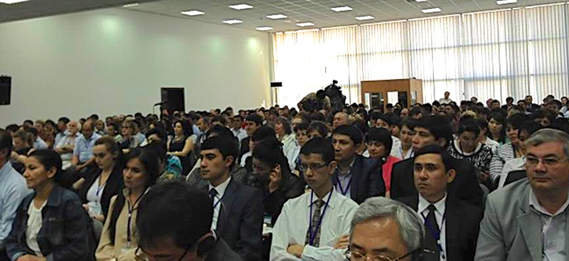 One of the two events during the ICT Summit in Uzbekistan